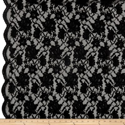 Chantilly Lace Double Boarder Black