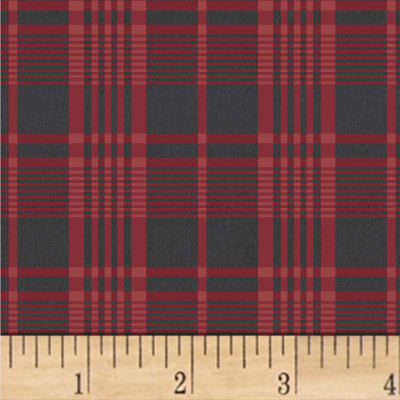 Another Point Of View Vintage Blue Plaid Red