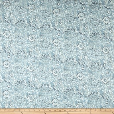 Ralph Lauren Home LCF68363F Lara Toile Chambray Twill Blue