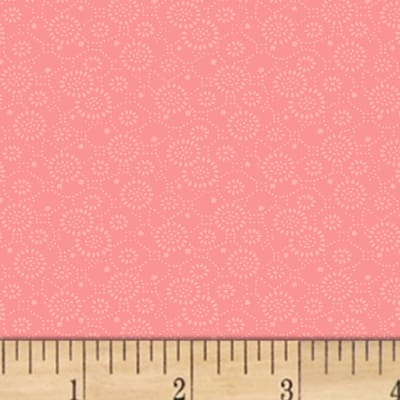 Mary Koval Colorwall Circle Flowers Pink Icing
