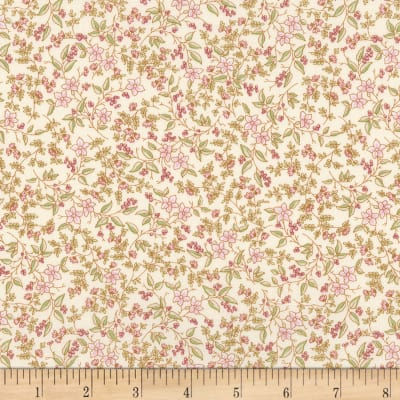 Kaufman Eaton Place Small Floral Ivory