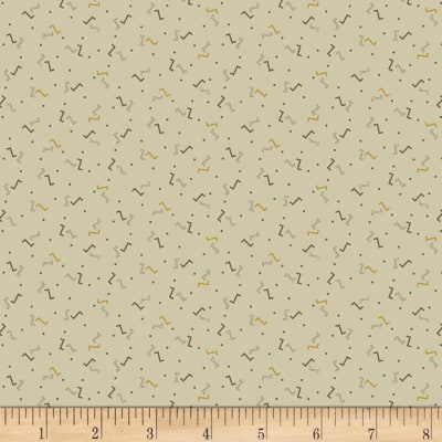 Timeworn Tool Box Tape Measure Little ZZZ's Geo Taupe