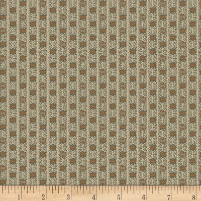 Timeworn Tool Box Tape Measure Bow Tie Geo Stripe Gray
