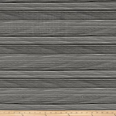 Kim Eichler-Messmer Imbue Batiks Narrow Stripe Black/White