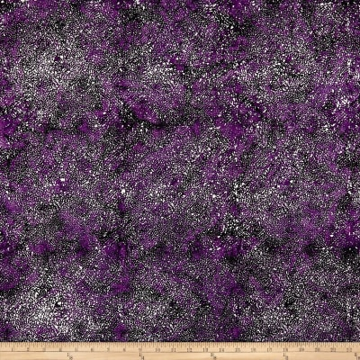 Kim Eichler-Messmer Imbue Batiks Tossed Seed Purple
