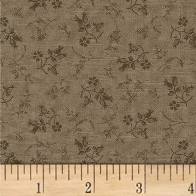 Pam Buda Primitive Threads Tossed Petals Taupe
