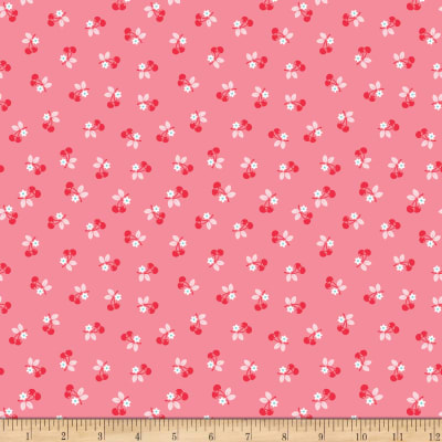 Calico Cherry Pink In Knit
