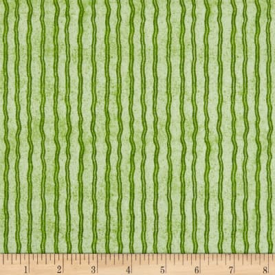 QT Fabrics Hungry Animal Alpha Stripe Green