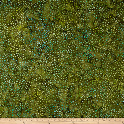 Wilmington Batiks Fireworks Brown/Green