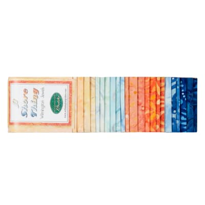 "Wilmington Jewels A Shore Thing Jewels 2 1/2"" Strips 24 Pcs Multi"