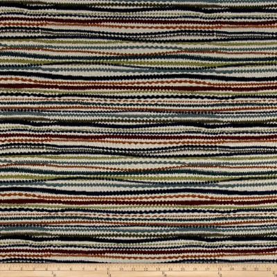 Busby Stripe Chenille Sunset