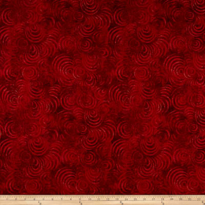 """Wilmington Essential 108"""" Backing Whirlpools Red"""
