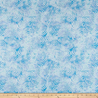 "Wilmington Essential 108"" Backing Whirlpools Blue"