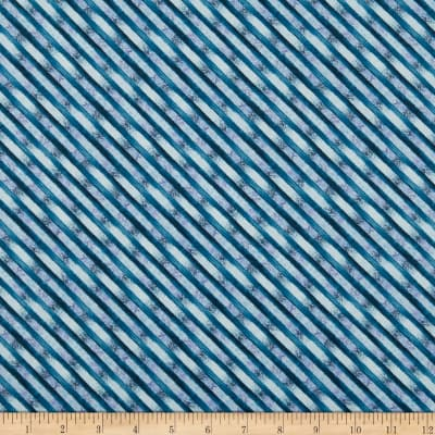 Wilmington Bohemian Dreams Stripe Blue