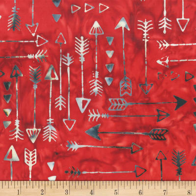 Anthology Fabrics Specialty Southwest Arrows Red