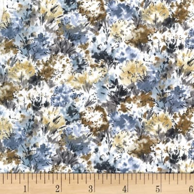 Michael Miller Alfresco Flowers Neutral