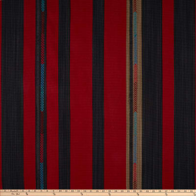 Ralph Lauren Home LFY68359F Little Crow Yarn-Dyed Basketweave Cochineal Red