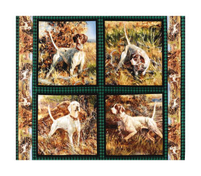 """Springs Creative Wild Wings Point North Pillow 36"""" Panel Multi"""