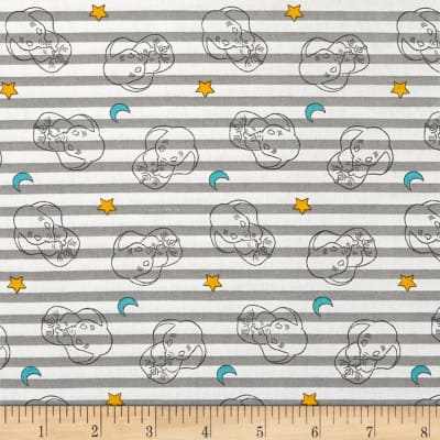 Disney Sweet Dreams Dumbo Stripe Gray