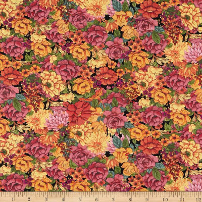 Springs Creative Blessed Beauty Packed Floral Multi
