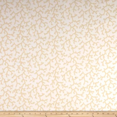 Thibaut Coral Beige on White