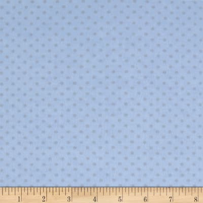 Two Tone Dot Flannel Blue