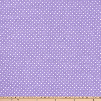 Two Tone Dot Flannel Lavender