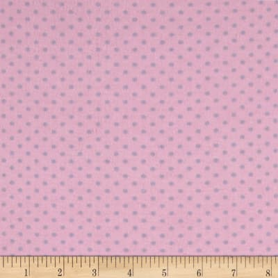 Two Tone Dot Flannel Pink