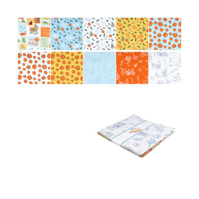 """Riley Blake James And The Giant Peach 10"""" Stacker 42 Pcs Multi"""