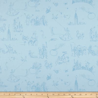 James And The Giant Peach Toile Blue