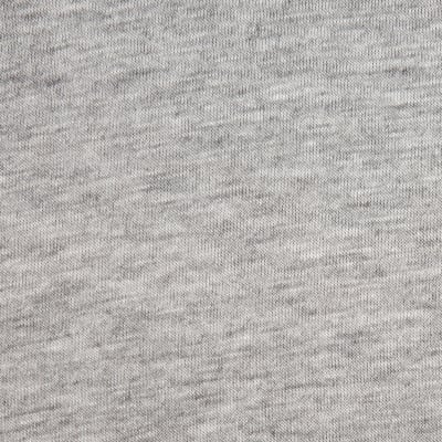 Rayon Jersey Knit Solid Heather Grey