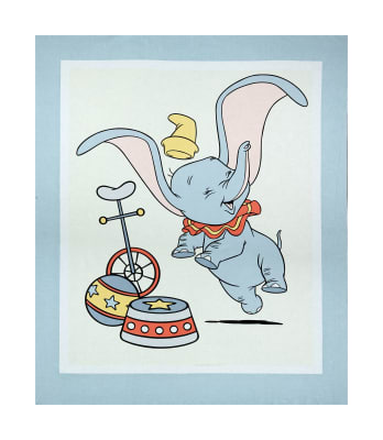 "Springs Creative Disney Classic Dumbo 36"" Panel Multi"