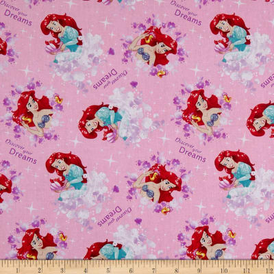 Springs Creative Disney The Little Mermaid Princess Ariel Discover Your Dreams Pink