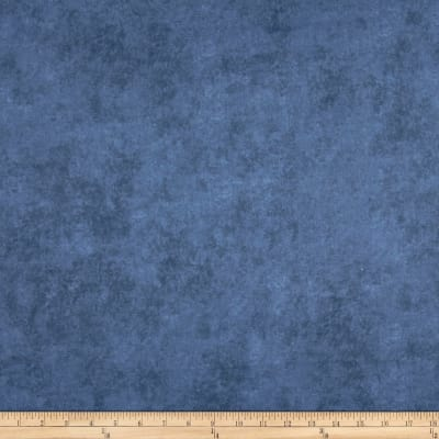 """Maywood Studio 108"""" Beautiful Backing Suede Texture Blue Jeans"""