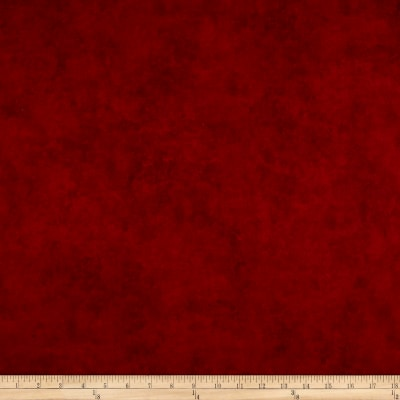 "Maywood Studio 108"" Beautiful Backing Suede Texture Red"