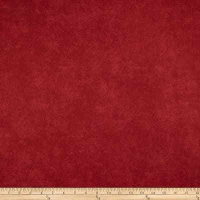 """Maywood Studio 108"""" Beautiful Backing Suede Texture Soft Red"""