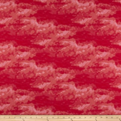 Clothworks Misty Tonal Raspberry