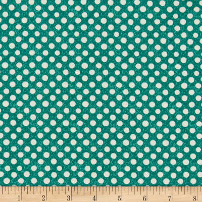 Clothworks Good Things Will Come Dot Light Emerald