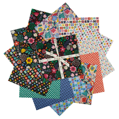 """Clothworks Good Things Will Come 10"""" Squares 42 Pcs Multi"""