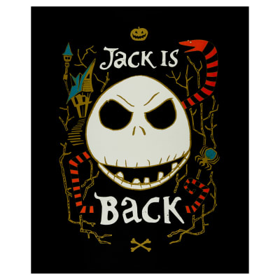 "Jack is Back 36"" Panel Glow in the Dark Multi"