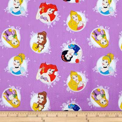 Disney Forever Princess Princesses In Circles in Purple
