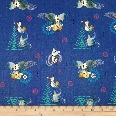 Disney Olaf's Frozen Adventure Family Tradition in Navy