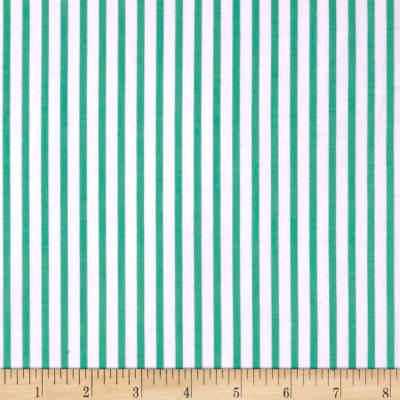 Cotton Lawn Stripe Green
