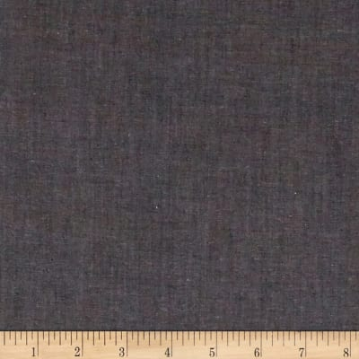 Cotton Fine Chambray Black