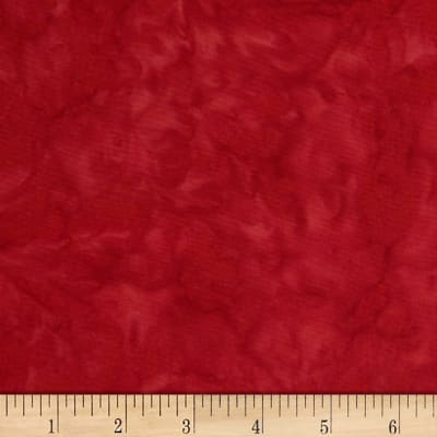 Northcott Banyan Batiks Shadows Red