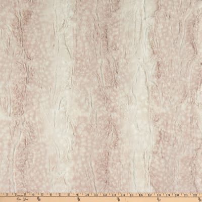 Shannon Minky Luxe Cuddle Fawn Rosewater