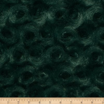 Shannon Minky Luxe Cuddle Rose Evergreen