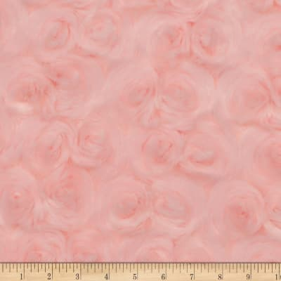 Shannon Minky Luxe Cuddle Rose Shell