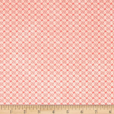 Stof Fabrics Denmark Gradiente Basic Flowers In Grid Red