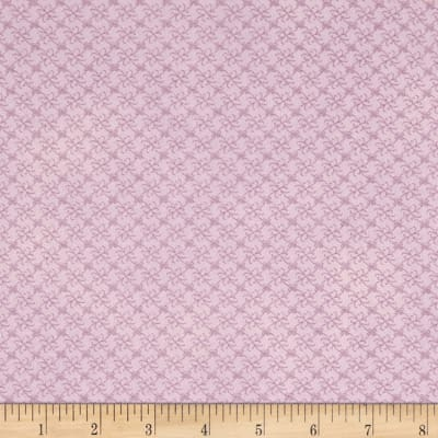 Stof Fabrics Denmark Gradiente Basic Flowers In Grid Lavender